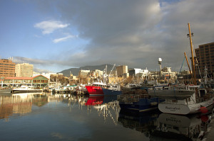 View of Hobart Waterfront