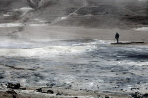 Thermal Activity at Hverir  Iceland