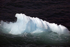 Iceberg in Prince Christian Sound Greenland