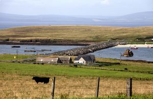 Churchill Barriers at Scapa Flow