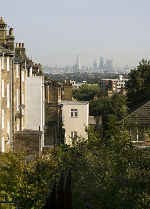 London City From Gypsy Hill