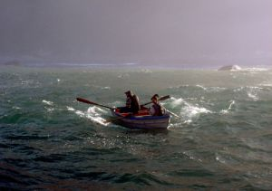 Fish Poachers Off Hout Bay