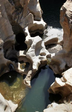 Bourkes Luck Potholes Blyde River Canyon