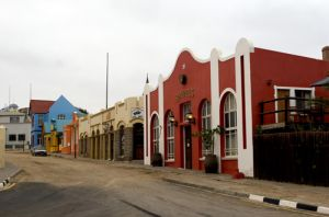 Typical Street in The Town of Ludderitz