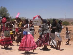 Wedding Dance in a Township