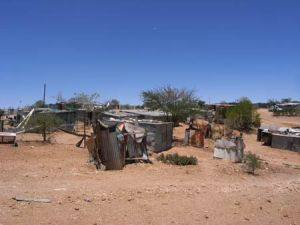 ShantyTown on Outskirts of Windhoek