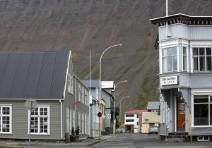 Isafjordur is the largest town on Westfjord Peninsular
