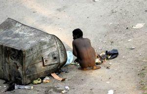 Homeless Man Beira