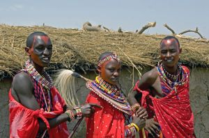 Masai Wedding Party