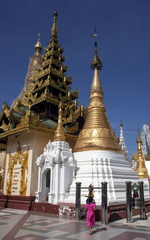 Shwedagon Temple Yangon (Rangoon)