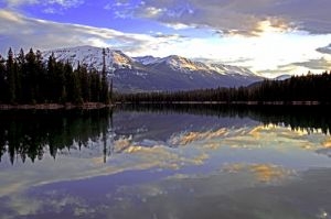 Maligne Lake Jasper National Park Alberta