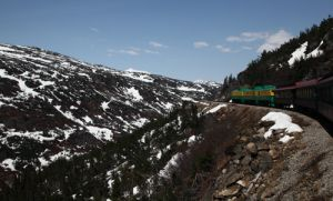 White Pass Railway  Near Skagway