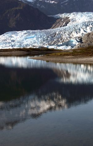 Mendenhall Glacier Reflection