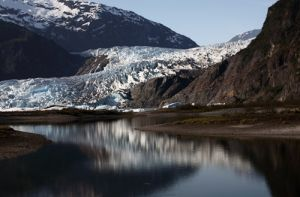 Mendenhall Floating Ice and Glacier
