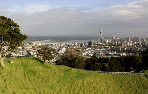 View of Auckland City from Mangawhai