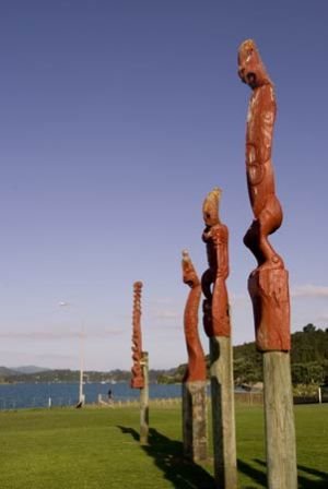 Waitangi Carvings Bay of Islands