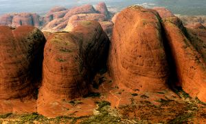 Flight View of Kata Juta