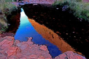 Reflection of part of Kata Juta or The Olgas