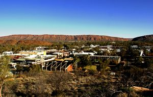 View Over The Town Of  Alice Springs