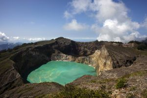 Crater Lakes at  Kelimutu