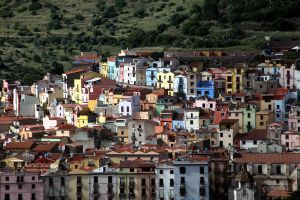 Bosa Hillside Houses