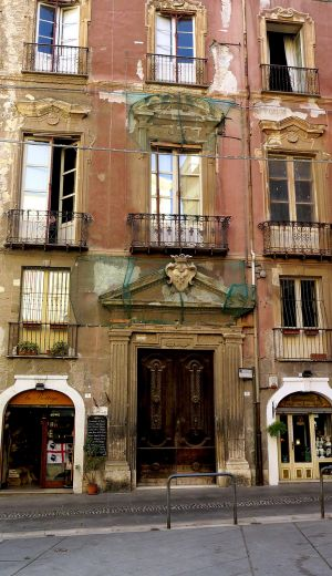 Cagliari Old Buildings