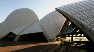 Opera House Forecourt Early Morning