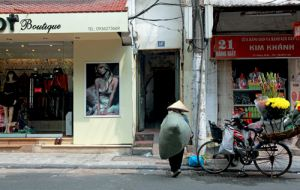 Boutique and Street Life Hanoi