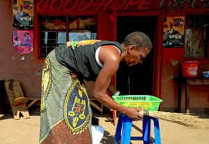 Zambian Village Domestic Chores