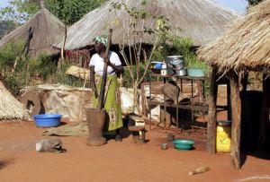 Leya Village Life Southern Zambia