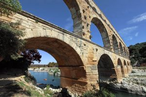 Pont Du Gard, Roman aqueduct in Southern France