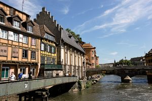 Petit France, Old City of Strasbourg, Rhine River