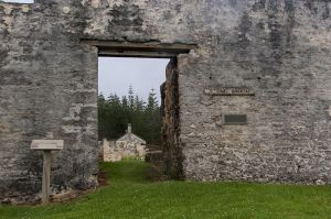 Old Convict Hospital Ruins on  Norfolk Island