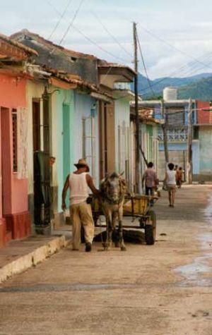 Baracoa Street Scene
