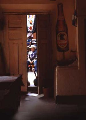 Bar in Mountain Town of Solola
