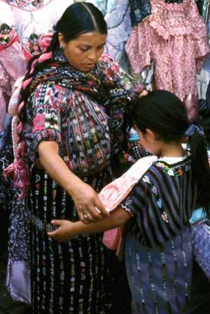 Shopping in Village of Solola