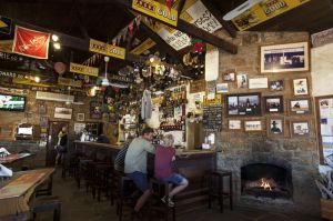 Inside The Birdsville Pub