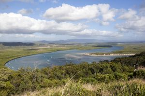 View of Cooktown  River