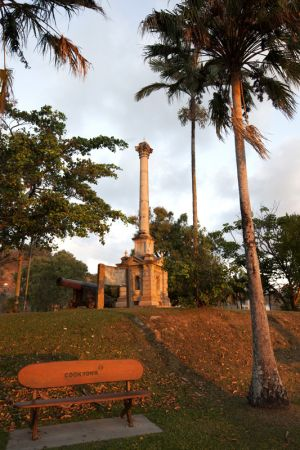 Sunset on Monument Cooktown
