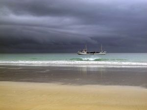 Cable Beach Rainy Sky