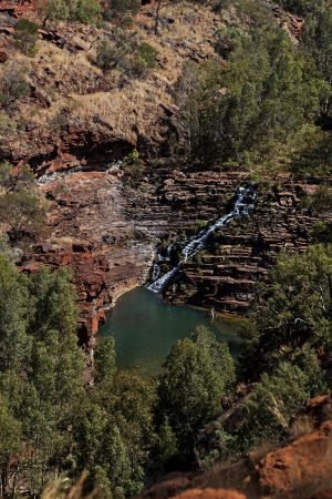 Fortescue Falls Karigini The Pilbarra WA