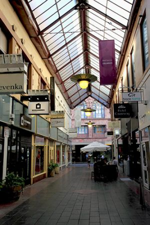 Arcades in the Inner City of Melbourne