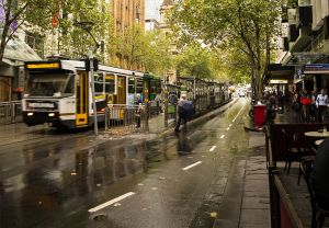 A Typical Rainy Day in Melbourne