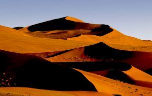 Desert Dunes of Soussevlei in Namibia