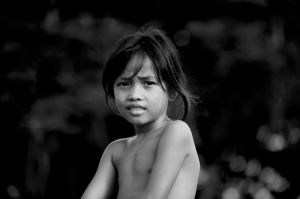 Angkor Ban Child Portrait