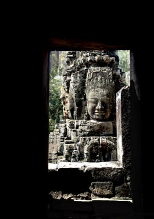 Angkor Thom Window