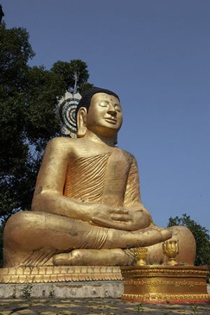 Buddha Statue at Meditation Mountain