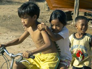 Cambodian Children at Play