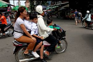 Phnom Penh Family Outing