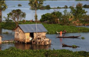 Tonle Sap Lake Dwelling